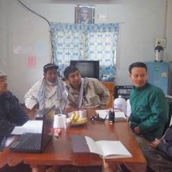 ปสง.สิทธิชุมชน13 มกราคม ประชุมผู้นำและองค์ภาคีติดตามการประกาศอุทยาน